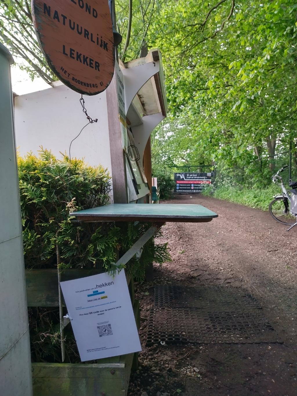 Voor bewoners is het 2 km omlopen naar de eierboer. BDU media © BDU media