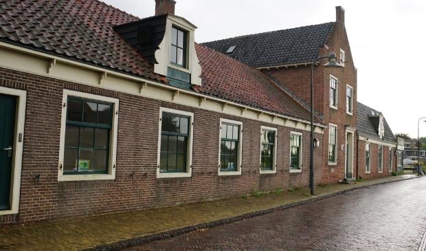 <p>'t Jagershuis aan de Amstelzijde.</p>