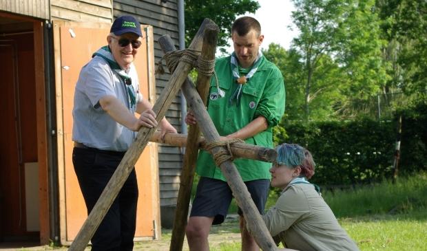 <p>Lotte, Jakay en Wim zijn vrijwilliger bij Scouting Katimavik. </p>