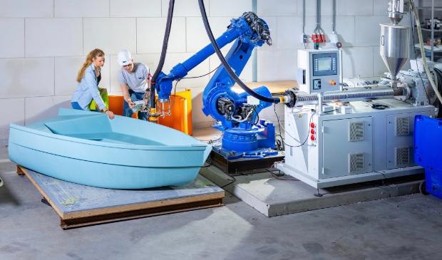 In het i Lab worden innovatieve technieken toegepast zoals 3D print