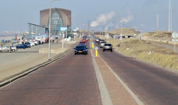 Tijdens het weekend van de Formule 1-race zijn auto's niet welkom op de Zeeweg.