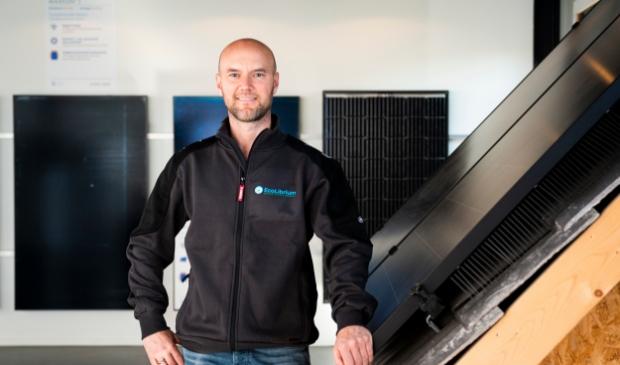 <p>Dennis van Diepen van EcoLibrium in Barneveld.</p>