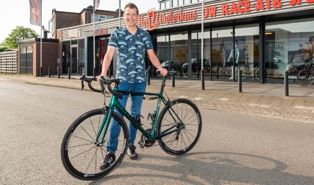 """<p>Wilfred Vonk: ,,Het voelt alsof ik op een gloednieuwe fiets rij.""""</p>"""
