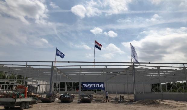 Nieuwbouw GAMMA Amstelveen bereikt hoogste punt