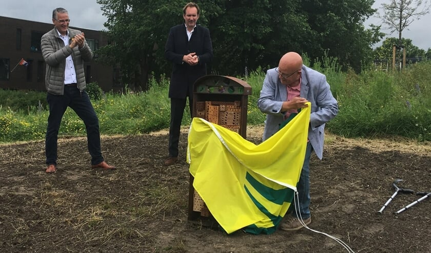 Eerste zaadjes geplant in stadspark IJmuiden