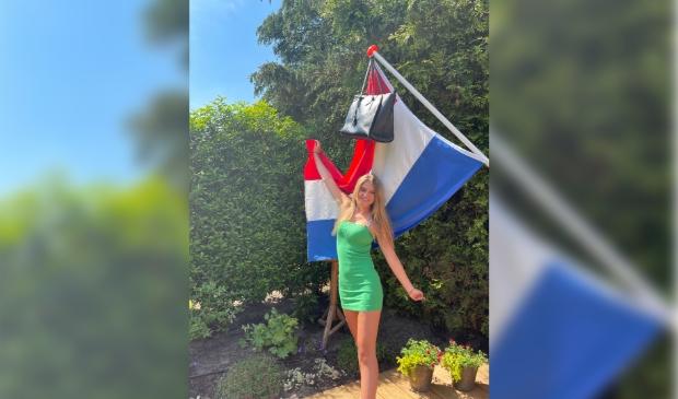 Sanne van Wijk, geslaagd voor HAVO