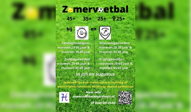 Zomervoetbal Amersfoort