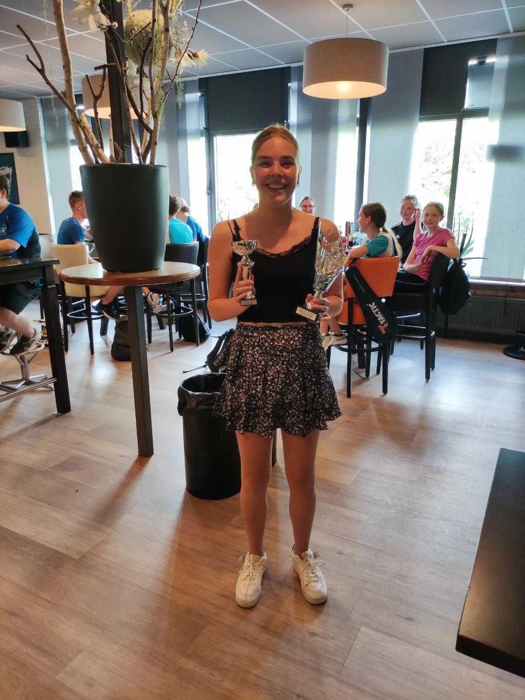 Clubkampioen dames Tessa Speksnijder Tom © BDU media