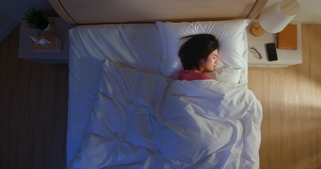 """,,Een goede nachtrust zorgt ervoor dat je overdag fit bent."""" . © BDU media"""