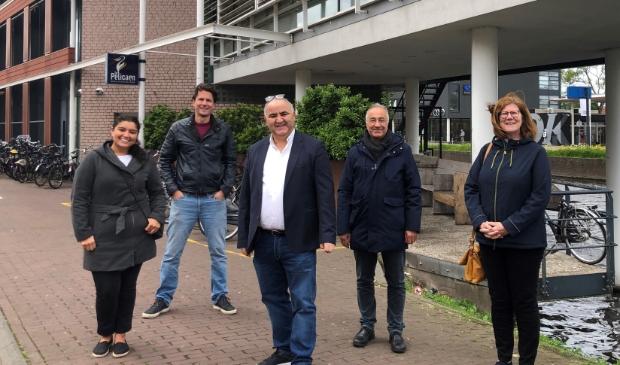 <p>De werkgroep: Meryem Cimen (d66), Peter van Kessel (VVD), Mostapha El A&iuml;chi (CDA), Ibrahim Yerden (PvdA) en Els Booms (CU) </p>