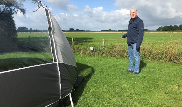 Campingbaas Joop Mocking is opgelucht na de uitspraak van de Raad voor State.