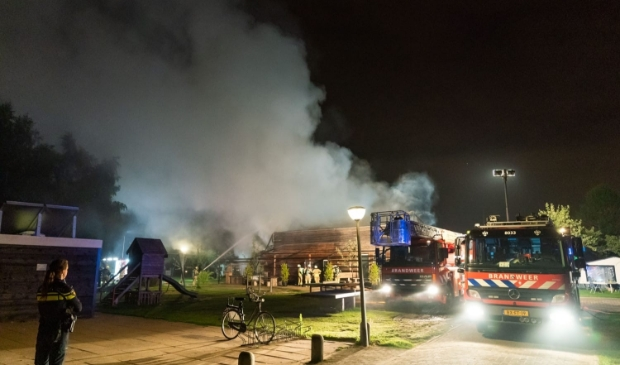 Brand op Camping de Boomgaard