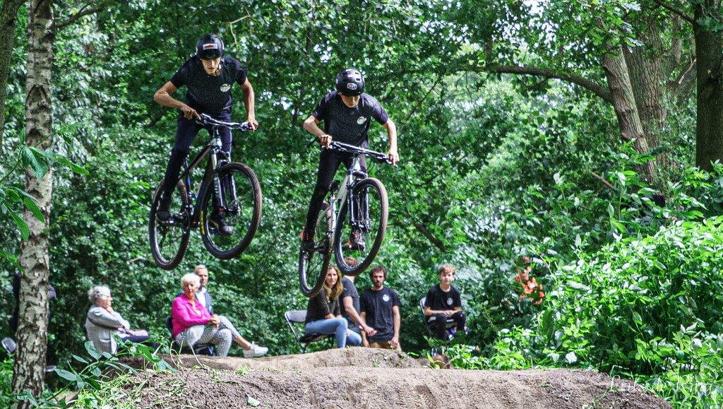 Milan Ombergen en Dani Koot in actie. Frits de Ruig © BDU media