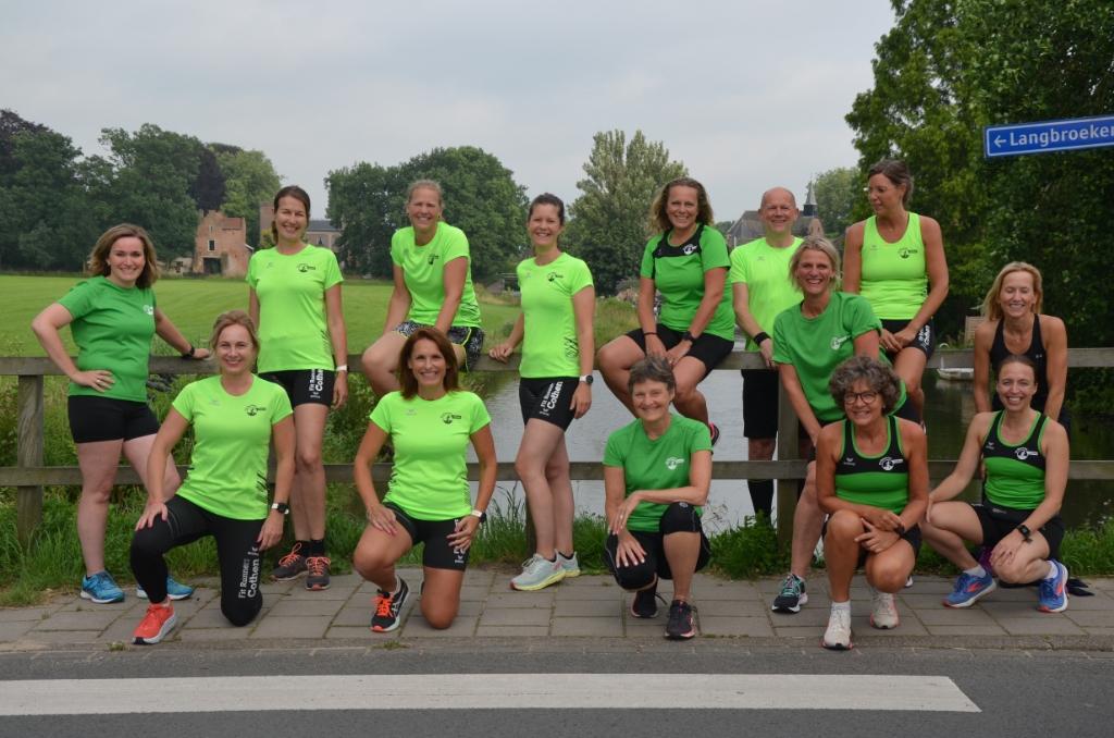 De laatste les van de Fit Runners voor de zomervakantie Ali van Vemde © BDU media