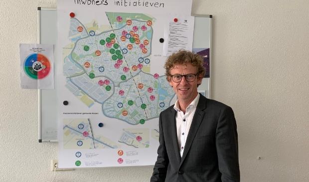 <p>Wethouder Jan Overweg</p>