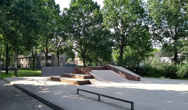 Skatepark bij Imkerspark