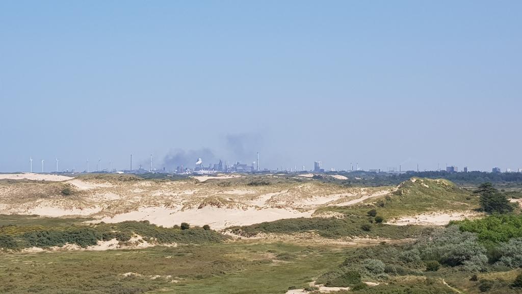 Uitzicht op de Hazenberg met in de verte IJmuiden. Mariëlle Tukker © BDU Media