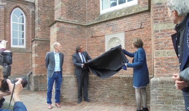<p><em>Bonifatius-gedenksteen in Breukelen onthuld door wethouder Jeroen-Willem Klomps</em>. </p>