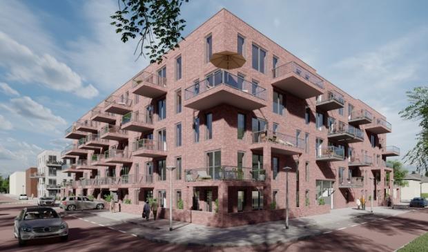 Impressie zorgwoningen in Westwijk.