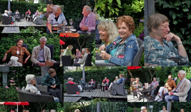 <p>&#39;Effe Buurten&#39; activiteit bij Ria en Wim in Bunnik op 16 juli.</p>