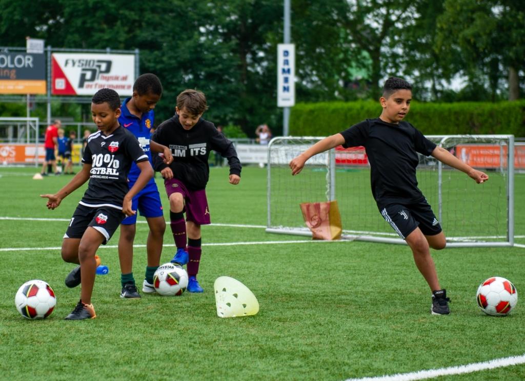 Activiteit Unitas jeugd Theo Bos © BDU Media