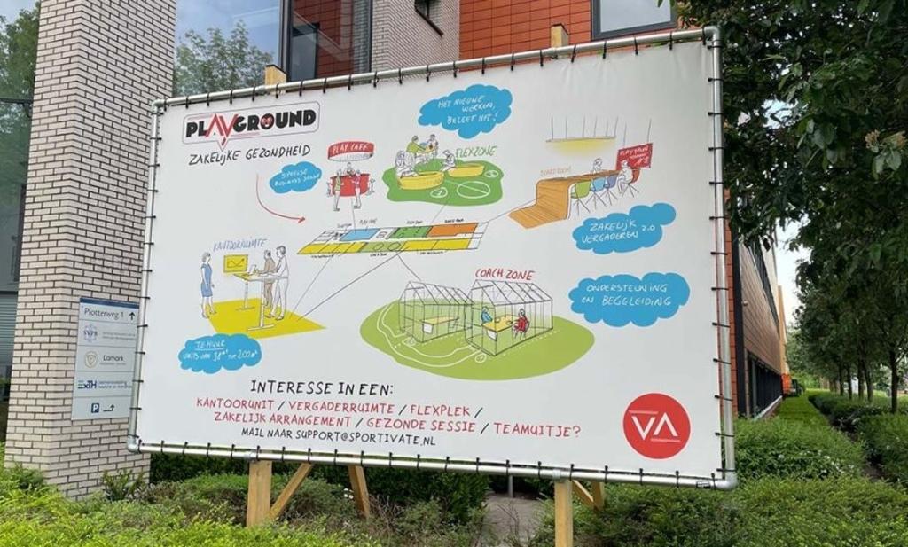 Na de zomer, op woensdag 1 september gaan de deuren open van de nieuwe 'Playground33'. Sportivate © BDU media