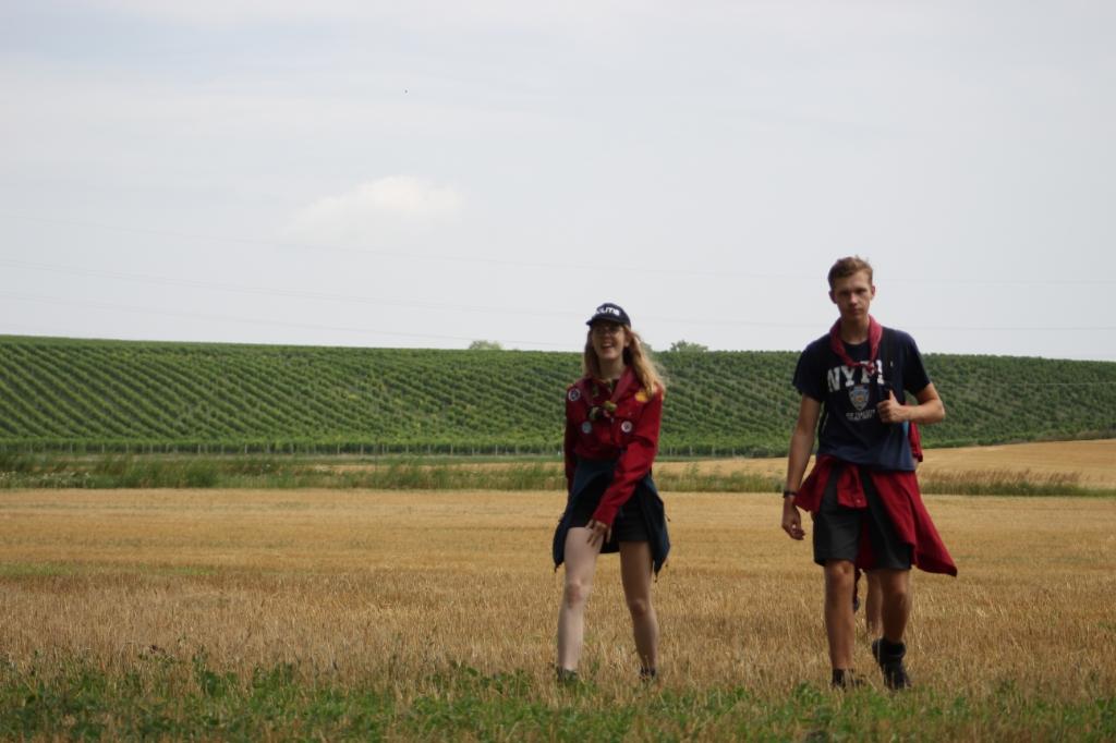 Hike zomerkamp explorers Scouting Hiawatha © BDU Media