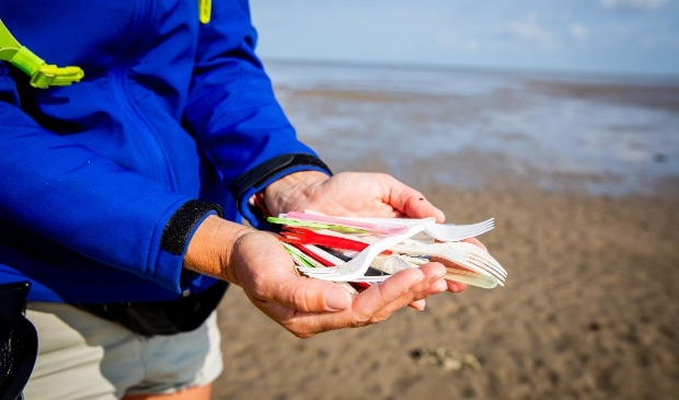 <p>Geen plastic bestek meer in de strandpaviljoens.</p>