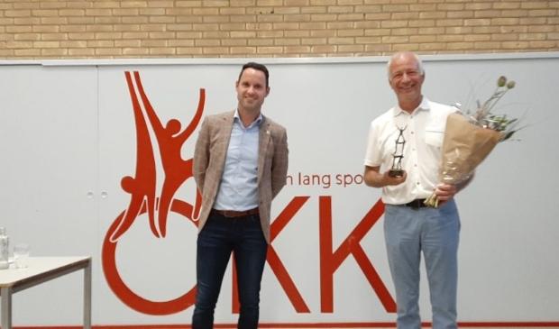 <p>Richard van Noordenne met Johan van Dam.</p>