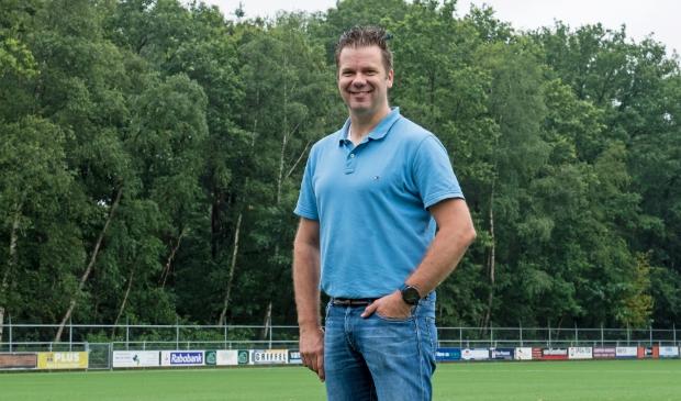 Berry van Kruistum ziet de toekomst van zijn SV Harskamp zonnig in.