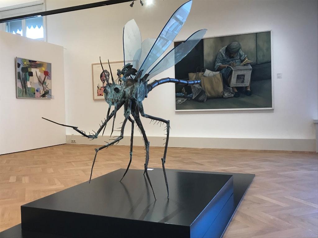 Het Gorcums Museum geeft een unieke inkijk in het werk dat tot stand is gekomen dankzij de 'beeldende kunstenaars regeling'; ofwel de BKR.  Gorcum Museum © BDU media