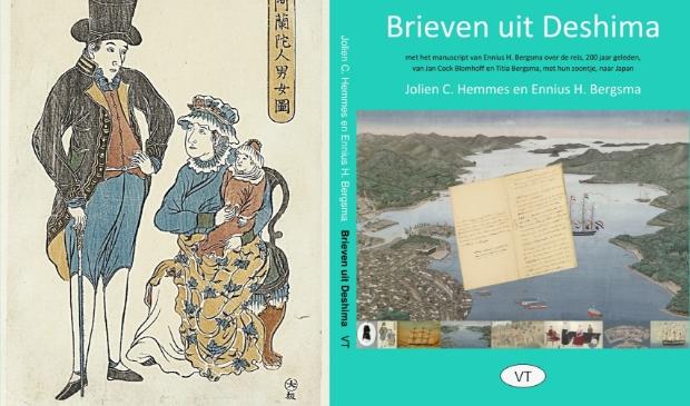 De cover van het boek en het gezin