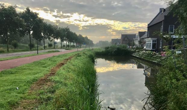 <p>De vroege morgen bij de Blauwe Zoom</p>