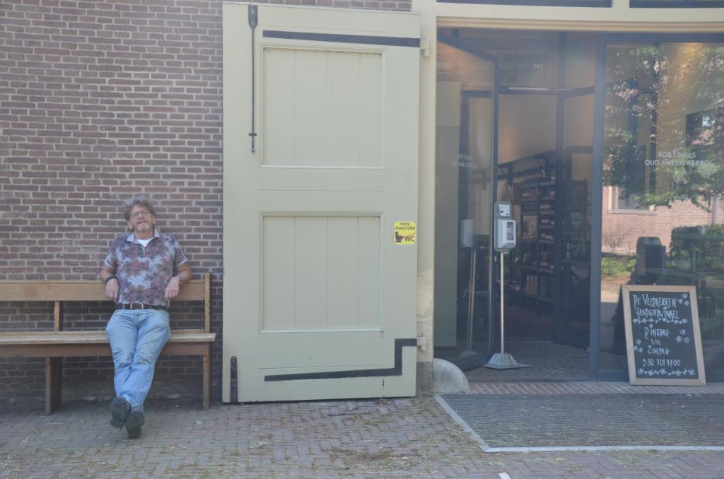 Hans van den Berg bij de Veldkeuken op landgoed Amelisweerd Ali van Vemde © BDU media
