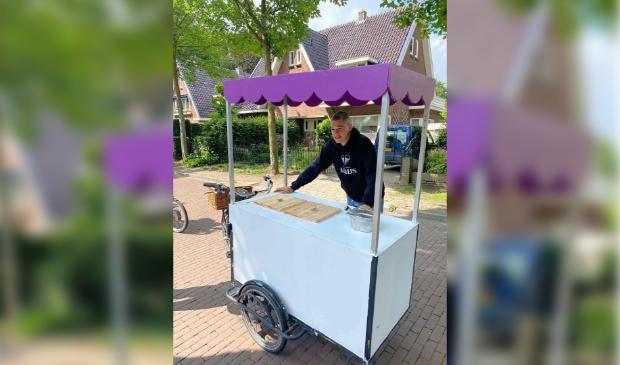 Ik die ijsjes verkoopt