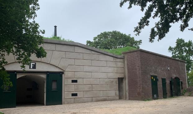 Fort Honswijk, remises F en M