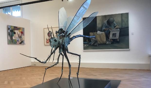 <p>De tentoonstelling met BKR kunst is verlengd tot september</p>