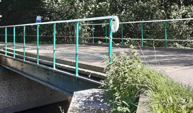 <p>De IJzeren brug over de Kromme Rijn bij Beverweert Werkhoven</p>