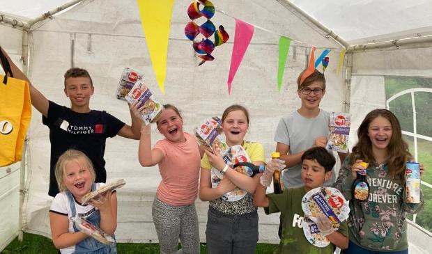 Het buurtfeest in de Weresteijn was een groot succes. Privé © BDU media
