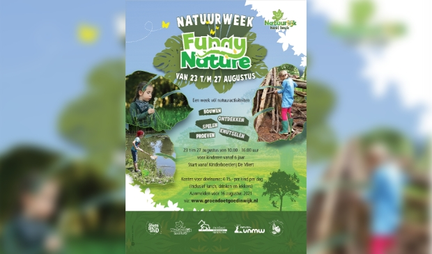Poster Natuurweek Funny Nature