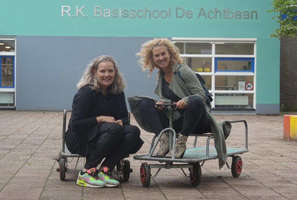 Even terug op de oude, verbouwde basisschool de Achtbaan in Klaarwater. Johan van Beek © BDU media