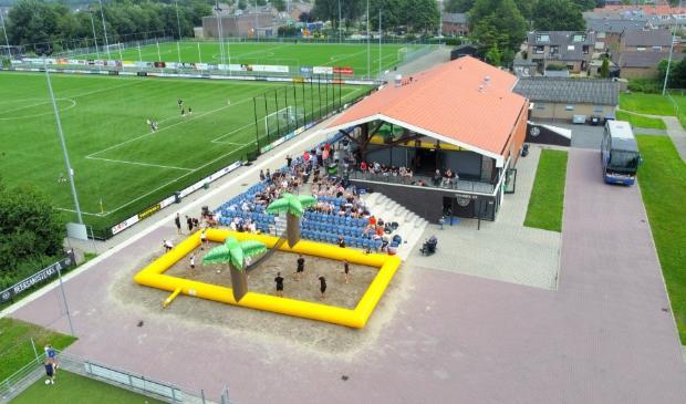 Een groot sportief feest op het prachtige complex van de hechte vereniging uit Nijkerkerveen.
