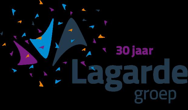 Logo 30-jarig jubileum Lagarde Groep