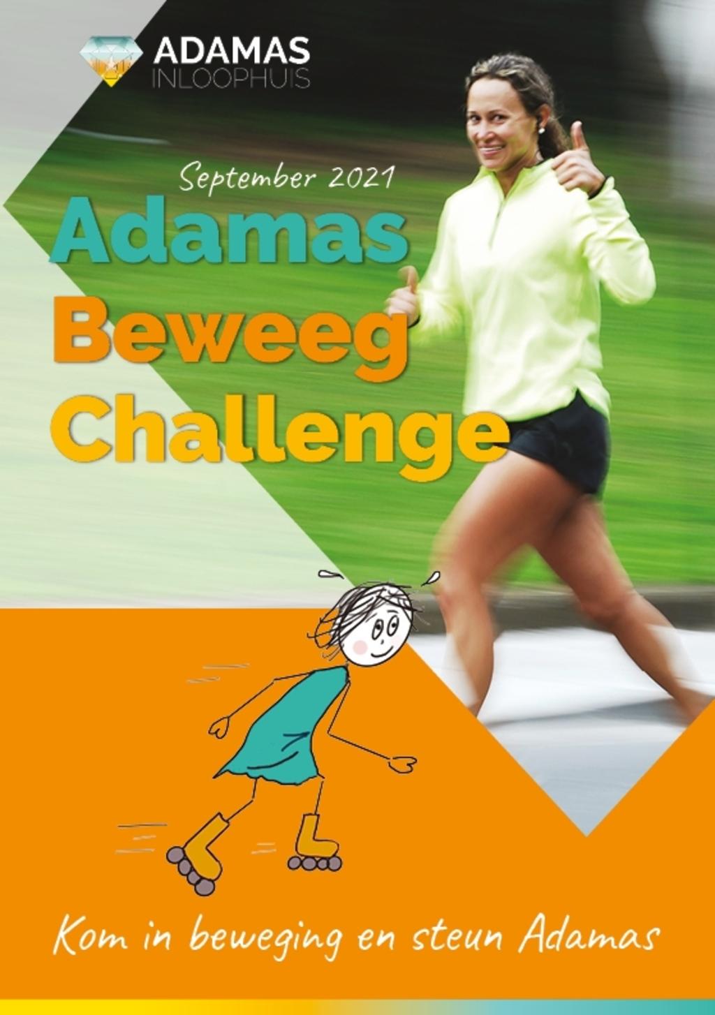 Adamas Beweeg Challenge Annelies Osinga © BDU media