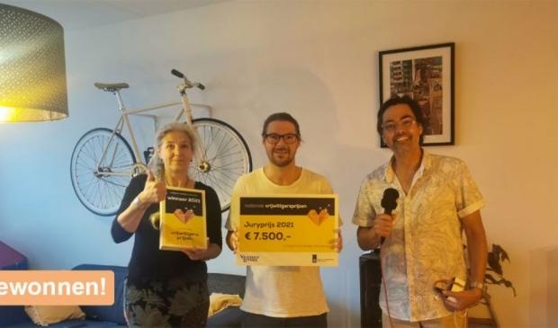 Uitreiking Vrijwilligersprijs aan Get a Grip