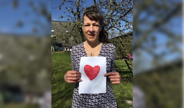 Ageeth Vernooij ziet veel bezoekers uit Nederland in de theetuin