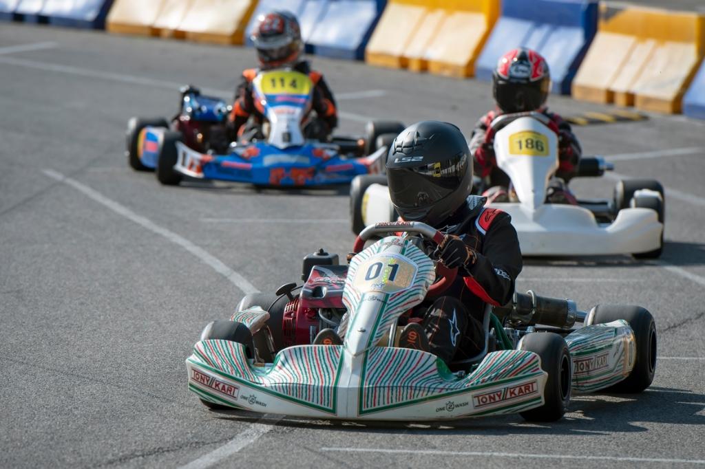 In actie op het grote en bekende Raceway Venray Ronald Stiefelhagen © BDU