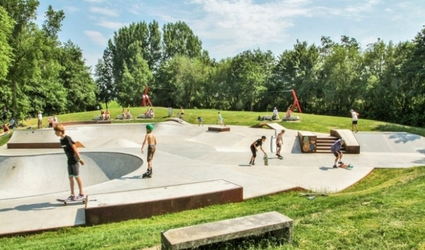 Skatebaan in Purmerend.