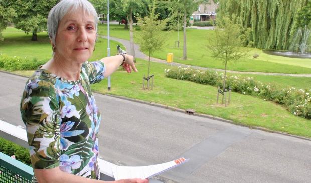 <p>&nbsp;Mevrouw Klaassen: &#39;Schandalig dat daar een brengparkje komt.&#39; </p>