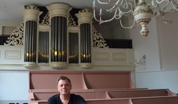 <p>Organist en organisator Nico Blom: &ldquo;In 2022 weer nieuwe serie Orgelconcertjes.</p>